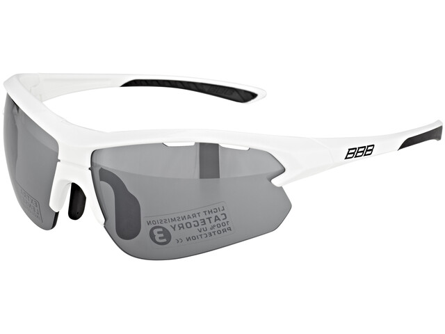 BBB Impulse BSG-52S Sportbrille small weiss glanz